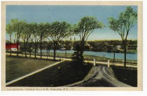 ST. HYACINTHE, Quebec, Canada, 1900-1910's; General View