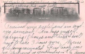 Liberty Missouri William Jewell College Private Mail Antique Postcard J68541