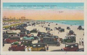 DAYTONA / HUNDREDS OF OLD CARS  ON THE BEACH - 1920-30s / Every type !