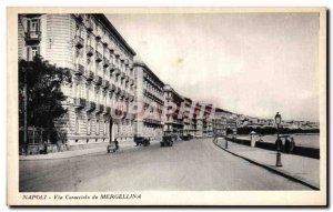Postcard Old Napoil Caraccielo Via Mergellina