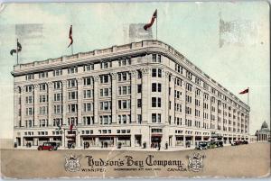 1928 Hudson's Bay Company, Winnipeg, Canada c11
