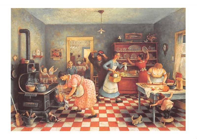 Thanksgiving - Doris Lee, American