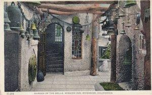 RIVERSIDE, California, 1900-1910's; Garden Of The Bells, Mission Inn