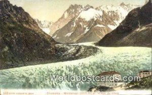 Montanvert et la mer de Glace Chamonix Swizerland Unused