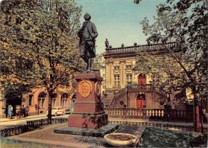 Messestadt Leipzig Am Naschmarkt Goethe Denkmal Alte Hondelsboerse Statue