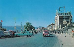 IZMIR , Turkey , 40-50s; Street View , Karsiyaka District, Classic Cars