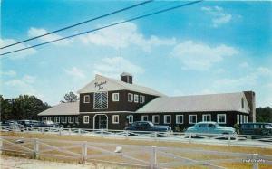 1950s Pine Brook Inn Motel roadside auto Macon Georgia Dexter postcard 162