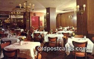 Kleine Konditorei Cafe & Restaurant, New York City, NYC Postcard Post Card US...