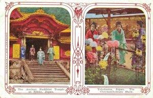 Japan The Ancient Buddhist Temple at Nikko Yokohama The Chrysanthemum Show 03.75