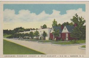 North Carolina Madison Grogans Tourist Court & Restaurant