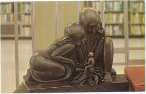 Samuel Cashwan's Sculpture Detroit Public Library Michigan