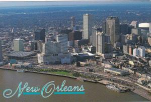 Louisiana New Orleans Skyline