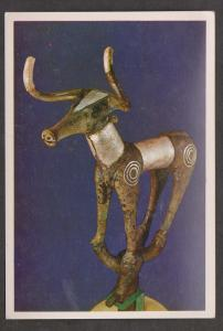 Bull Bronze inlaid with silver 3000 BC - Ankara Arkeolojie Muzesi Turkey