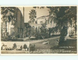 Pre-1950 rppc NICE VIEW Ocala Florida FL i9830
