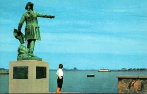 Massachusetts Fall River Statue Of Jean Rochambeau