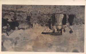 Ashland Nebraska~Family in Horse & Buggy~I Told You These Were No Good RPPC~1910