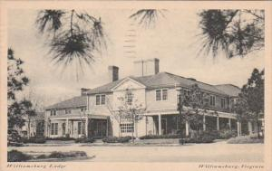 Virginia Williamsburg The Williamsburg Lodge 1945