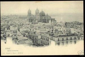 spain, CADIZ, Vista General (ca. 1899)