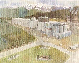Canada Eurocan Pulp & Paper Company Kitimat British Columbia