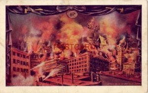 pre-1907 THE SAN FRANCISCO DISASTER BY QUAKE AND FIRE cpyrt 1906 James Lee Co.