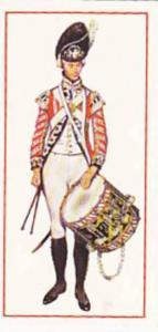 Carreras Vintage Cigarette Card Military Uniforms 1976 No 9 Drummer 1791 Firs...