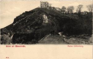 CPA Groet uit MAASTRICHT Ruine Lichtenberg NETHERLANDS (604526)