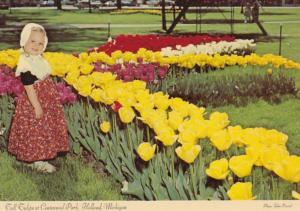 Michigan Holland Tall Tulips At Centennial Park