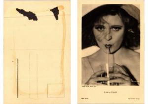 CPA AK Liane Haid Ross-Verlag 6068/1 FILM STAR (594002)