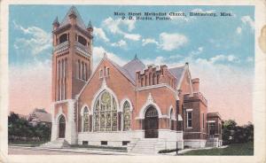 Main Street Methodist Church, Hattiesburg, Missisippi, PU-1921