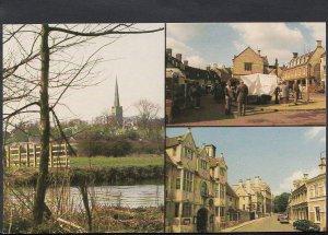 Northamptonshire Postcard - Views of Oundle  BH6225