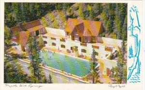 Canada Miette Hot Springs Swimming Pool Jasper National Park Alberta