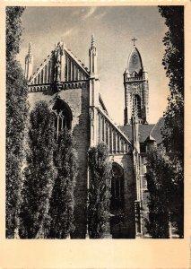 Belgium Norbertijner Abdij Tongerloo Voorgevel Abdijkerk Church Postcard