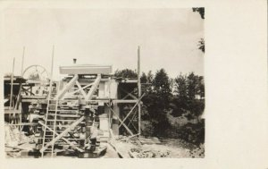 RP: BROWNSVILLE , Vermont, 1913 ; Building of Town Hall ; 2/2