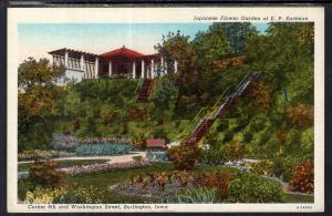 Japenese Garden of E P Eastman,Burlington,IA