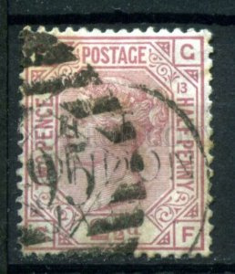 509553 Great Britain 1876 year Queen Victoria 21/2p used