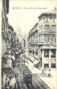 Milano, Italy, Italia Corso Vittorio Emanuele  Corso Vittorio Emanuele