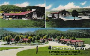 Scenic views of the Covered Wagon Resort,Rapid City,South Dakota,PU-1960