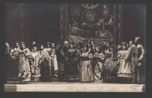 113669 HOFFMANN Russian OPERA STAGE Red Cross PHOTO 1916 RARE
