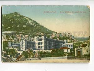 262224 GIBRALTAR New military Hospital Europa Tobacconist Shop