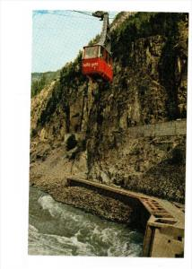 FRASER CANYON, British Columbia, Canada; Hell's Gate Airtram, Trans-Canada, 4...