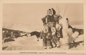 CANADA , 1910s ; Missions Esquimaudes #7