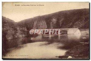 Postcard Old New Bridge over Creuse