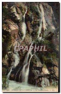 Old Postcard Gorges Chiffa La Grande Cascade