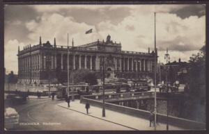Riksdagshuset,Stockholm,Sweden Postcard