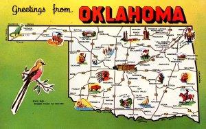 OK - Greetings from Oklahoma!   (Map)