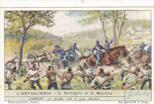 Liebig S1706 Artillery No 2 Battaglia di San Martino