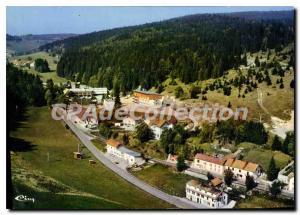 Postcard Modern Jougne View Aerienne