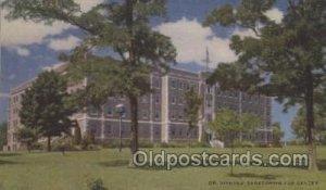 DR. Nichols' Sanatorium Savannah, Missouri, USA Hospital Unused close to perfect