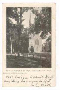 New Jerusalem Church, Bridgewater, Massachusetts, PU-1906