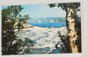Vintage Postcard:Reversing Falls and Rapids, New Brunswick, CANA 1960s